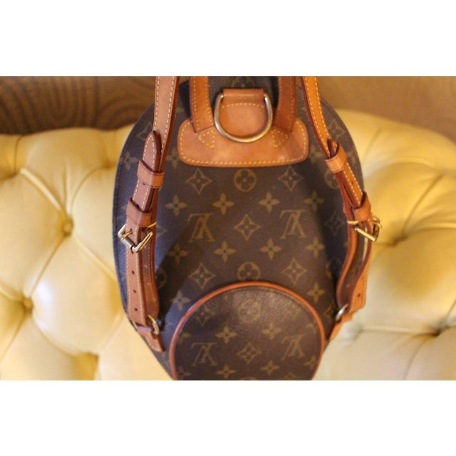 Brown Small Louis Vuitton Backpack Monogramm Bag For Sale - Image 8 of 12