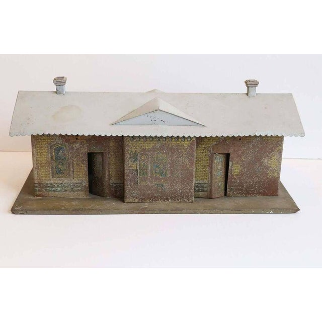 Traditional 1930s Vintage Miniature Train Depot For Sale - Image 3 of 5