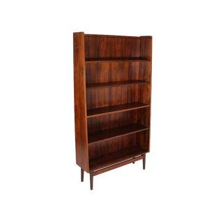 Mid Century Danish Rose Wood Bookcase