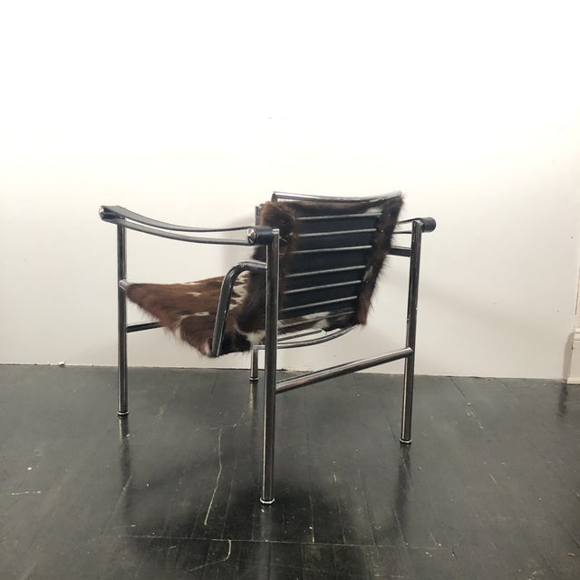 Cassina Vintage Le Corbusier Cassina Lc1 Chair For Sale - Image 4 of 13