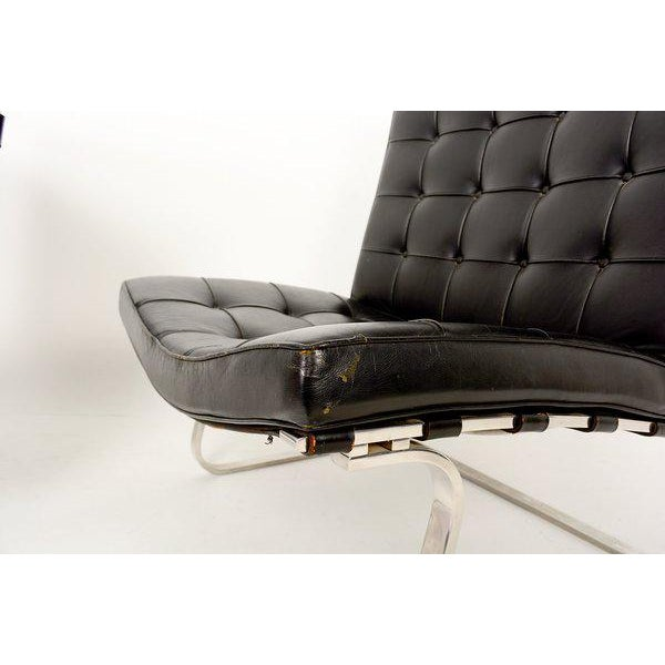 Ludwig Mies Van Der Rohe Tugendhat Lounge Chairs for Knoll - A Pair For Sale - Image 10 of 10