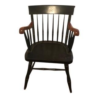 Vintage Mid Century Princeton Captain's Chair For Sale