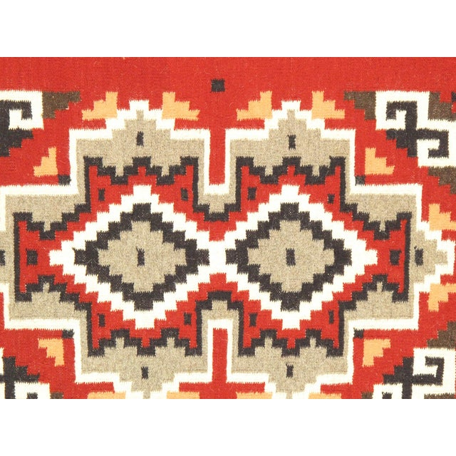 "Navajo Decorative Hand-Woven Rug - 3'1"" X 5'0"" - Image 2 of 3"