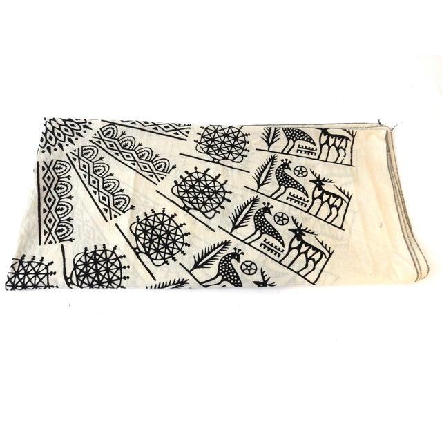 Turkish Cloth Tokat Yazma Throw or Tablecloth - Image 1 of 5