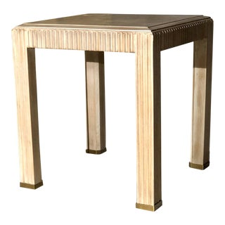 Contemporary Century Furniture Side Accent Table For Sale