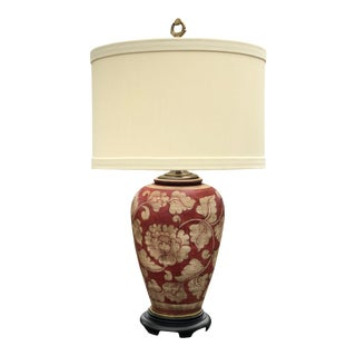 Wildwood Industries Ceramic Urn Table Lamp For Sale