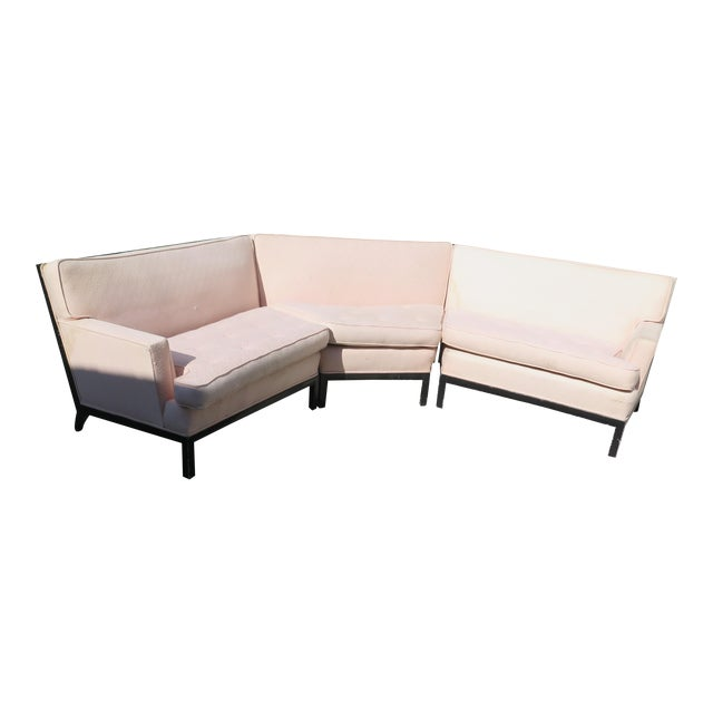 Mid-Century Modern Sectional - 3 Pieces - Image 1 of 6