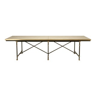 Industrial Style Dining Table For Sale