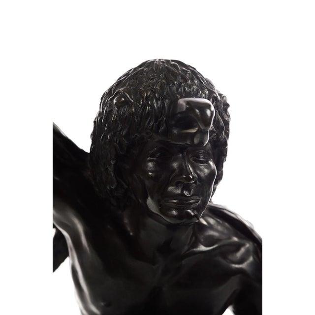 Bettie Moran - Raven Dancer - Native American Indian Bronze Sculpture For Sale - Image 4 of 11