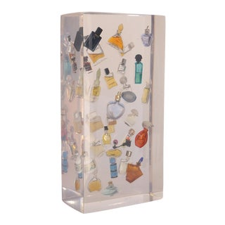 Miniature Perfume Bottles 3D Resin Art For Sale