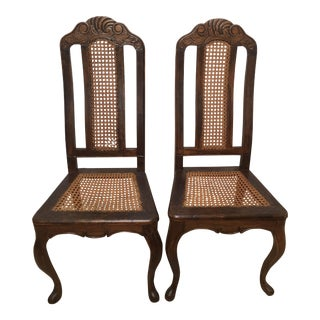 Mid 18th Century Vintage Side Chairs - a Pair For Sale