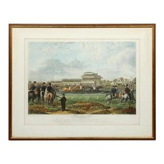 Charles Hunt Newton Races Framed Print For Sale