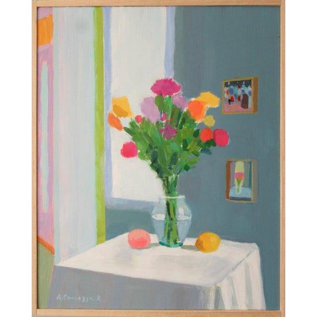 Bouquet, Peach and Creamer by Anne Carrozza Remick For Sale