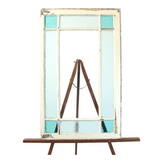 Antique Stained Glass Window For Sale