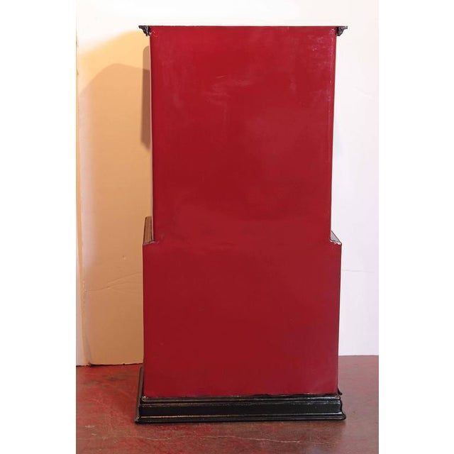 19th Century Parisian Iron Safe Box with Keys & Combination - Image 9 of 10