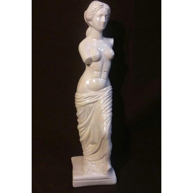 "Aphrodite of Milos (Venus De Milo) Greek 18"" Ceramic ..."