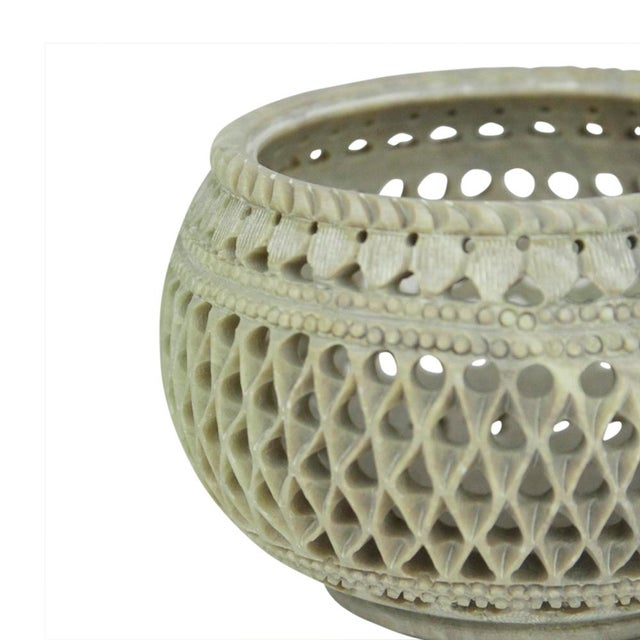 Marble Pierced Bowl - Image 2 of 4