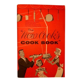 """""""The New Cook's Cook Book"""" Vintage For Sale"""