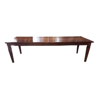 Americana Solid Walnut Dining/Conference Table For Sale