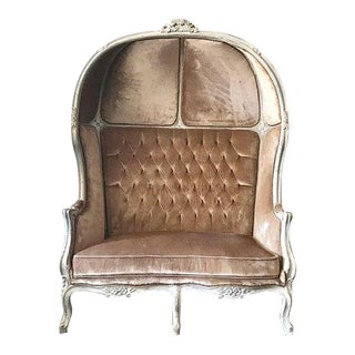 Tufted Throne Balloon Loveseat