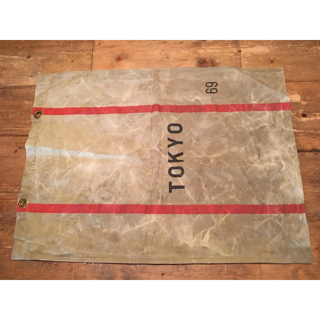 1940's Tokyo Mail Bag Japan Post For Sale In Los Angeles - Image 6 of 8