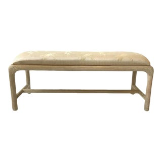 1980s Floridian Window Bench For Sale