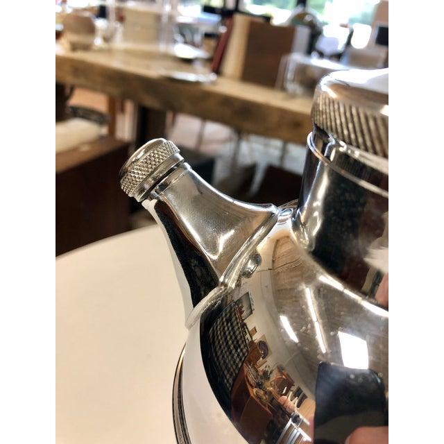 Mid-Century Modern Vintage Krome Kraft Farber Brothers Martini Shaker For Sale - Image 3 of 7