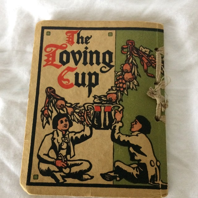 """1909 First Edition """"The Loving Cup"""" Original Toasts by Original Folks by Wilbur Nesbi - Image 4 of 11"""