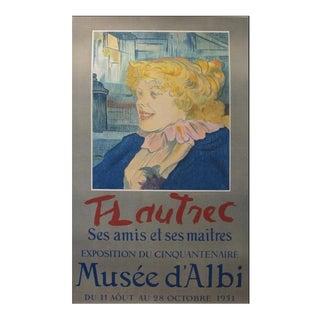 1951 Original Exhibition Poster, Musée d'Albi For Sale
