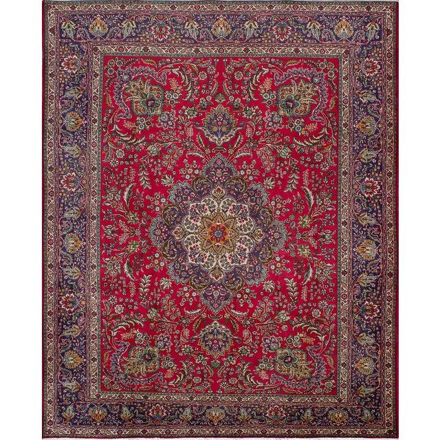 "Vintage Persian Rug - 10'1"" x 12'7"" - Image 1 of 2"