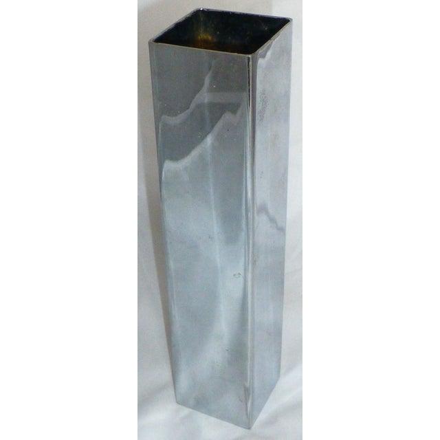 Mid-Century Chrome Bud Vase - Image 4 of 6