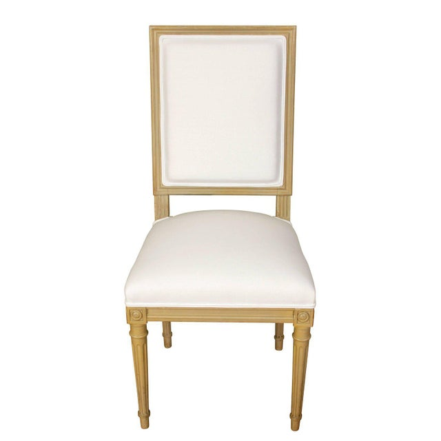 Set of Ten Louis XVI Style Dining Chairs - Image 8 of 9