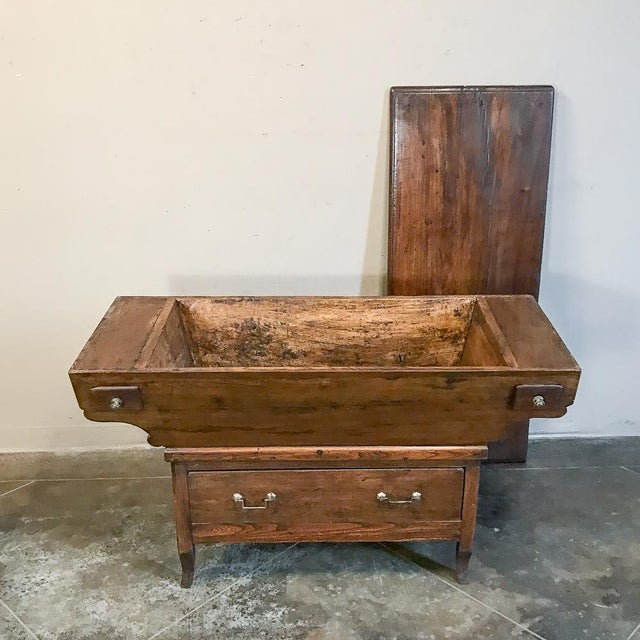 200 Year Old Directoire Period French Doughbox ~ Buffet For Sale - Image 9 of 12