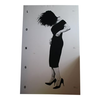 "Robert Longo ""Gretchen"" Exhibition Lithograph Poster"
