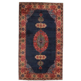 RugsinDallas Hand Knotted Wool Turkish Rug - 9′11″ × 17′7″ For Sale