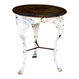 Victorian Cast Iron Table For Sale