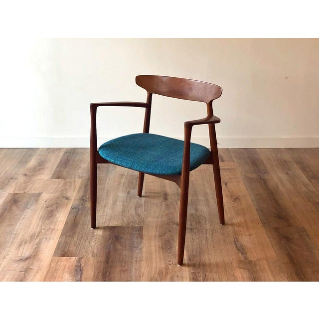 1960s Harry Østergaard for Randers Møbelfabrik Dining Chairs - Set of 8 For Sale - Image 9 of 13