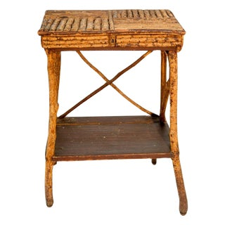 1920s Twig Side Table For Sale