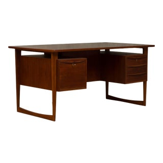 Danish Mid-Century Modern Executive Desk For Sale