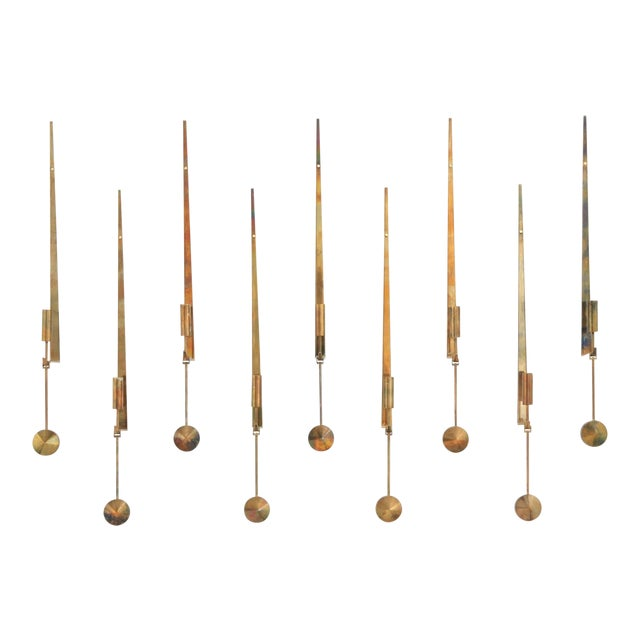 Wall Candleholders by Pierre Forssell, Skultuna, Sweden, 1950s For Sale