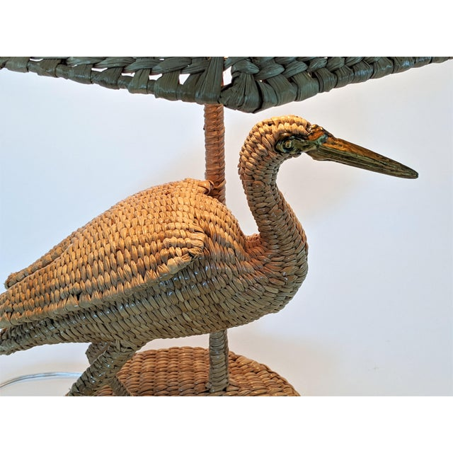 1970s Mario Lopez Torres Crane Table Lamp For Sale In Miami - Image 6 of 12