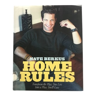 "2005 ""Nate Berkus Home Rules"" Interior Design First Edition Book For Sale"