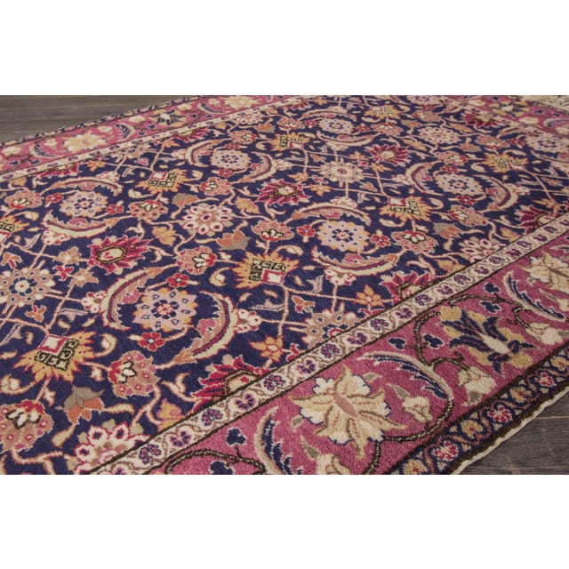 "Apadana - Antique Turkish Rug, 3'11"" x 5'9"" For Sale - Image 4 of 5"