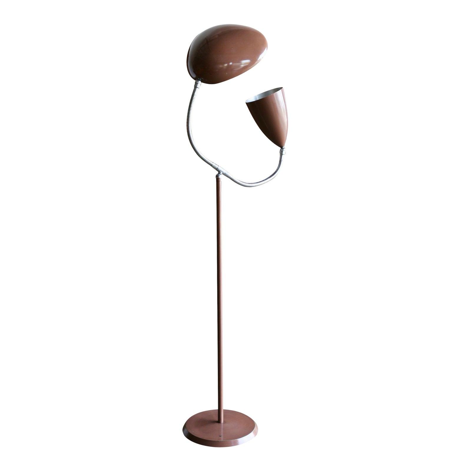 Greta Grossman Greta Grossman Double Shade Floor Lamp