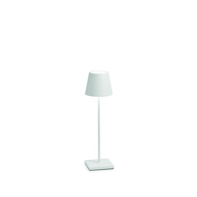 Modern Zafferano White Rechargeable Indoor/Outdoor Cordless Table Lamp For Sale - Image 3 of 3