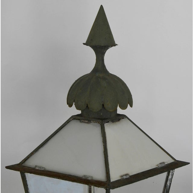 Late 19th Century 19th Century Pair of Victorian Gasolier Lanterns For Sale - Image 5 of 8