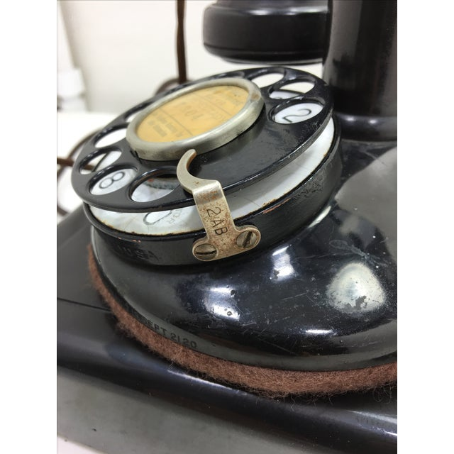 Western Electric Candlestick Rotary Dial Telephone - Image 9 of 11