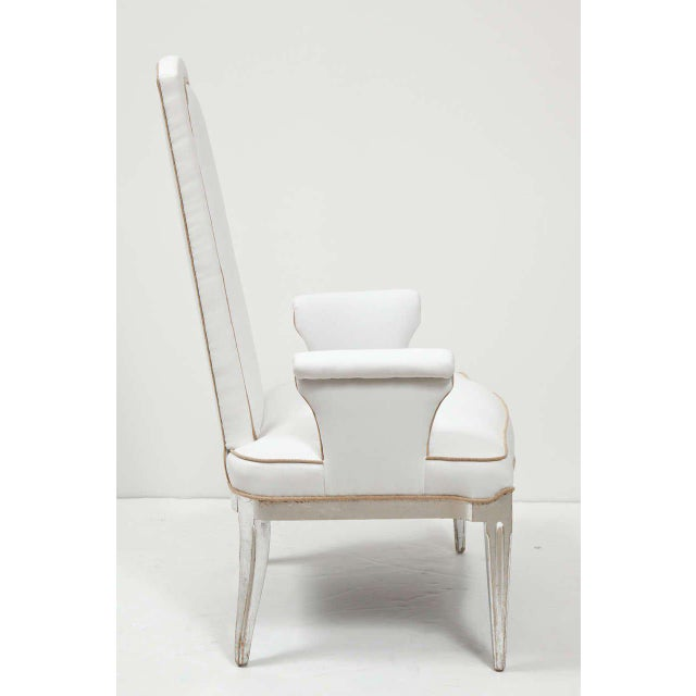 Pair of High Back Armchairs - Image 6 of 9