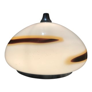 "Vistosi Murano Pendant Glass Globe Handblown 18 "" , 1969"