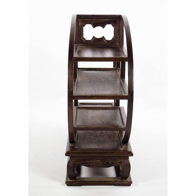 20th Century Chinese Wood Petite Etagere For Sale In Atlanta - Image 6 of 12